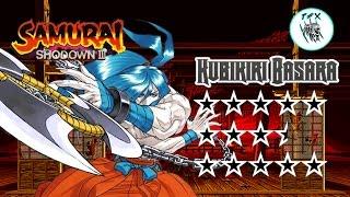 Samurai Shodown III  / Kubikiri Basara [Arcade Playthrough]