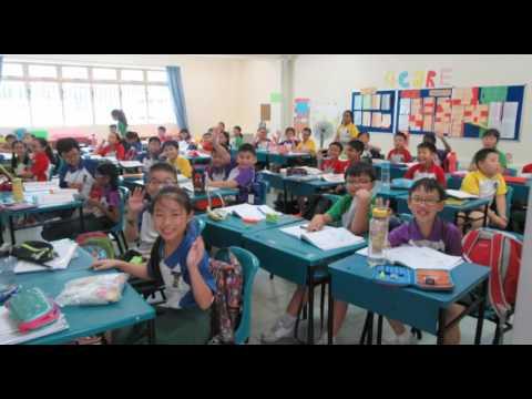 Castle Bridge School Visits Evergreen Primary - Singapore