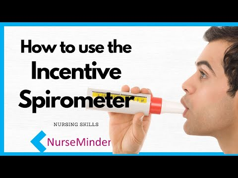 How To Use An Incentive Spirometer To Understand Patient's Lung Function (with NCLEX Review)