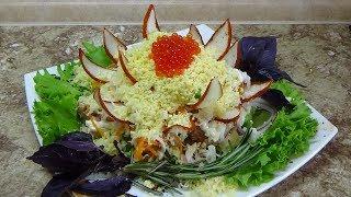 Салат Мимоза Очень вкусный салат Ресторан Дома