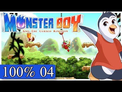 Monster Boy and the Cursed Kingdom - Lost Temple - Ketz / Lion Warrior (100%)