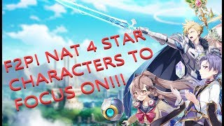 EPIC SEVEN - F2P 4 STARS TO FOCUS ON!  GOOD LUCK ON SUMMONS!