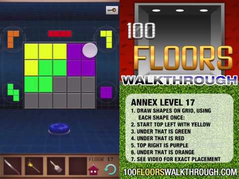Full Download 100 Floors Annex Level 17 Walkthrough