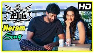 Video Sarabham Movie Climax | Naveen wins the project | Neram song | End Credits download MP3, 3GP, MP4, WEBM, AVI, FLV November 2017