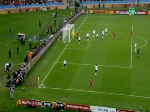 Gol Puyol España vs Alemania (Carlos Martinez)