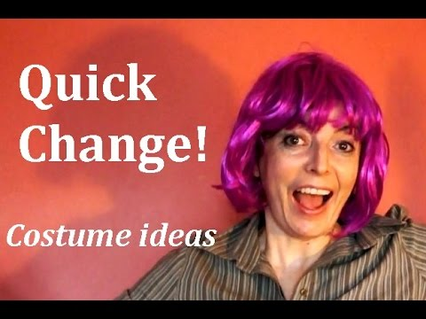 Quick Change Random Costumes How To Dress Up