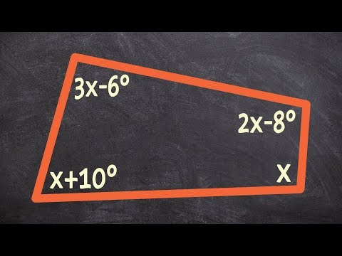 using-the-interior-angle-sum-theorem-to-find-x-of-a-quadrilateral