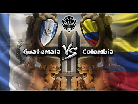 GUATEMALA vs COLOMBIA | ¡EL MEJOR PARTIDO POR AHORA! | GRUPO B - LATIN CLASH LEAGUE