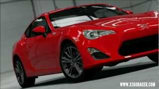 Forza Motorsport 4 - August Playseat DLC - Scion FRS