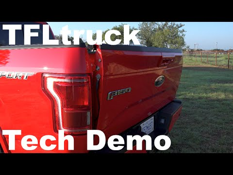 2015 ford f 150 pickup whats new innovative in the bed tailgate - 2015 Ford F 150 King Ranch Tailgate