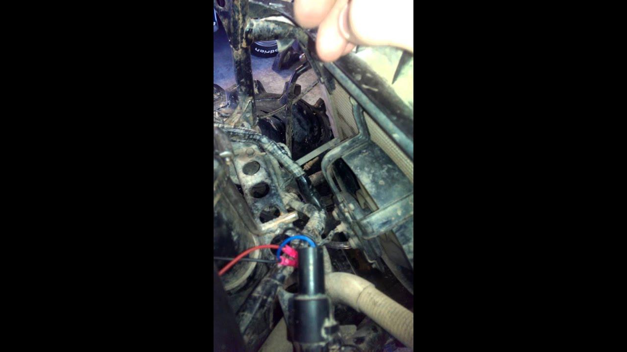 hight resolution of kawasaki brute force fan problems fixing wiring harness wiring kawasaki brute force fan problems fixing wiring harness