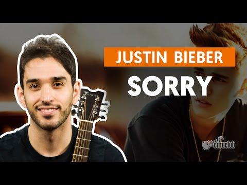 Sorry - Justin Bieber (aula De Violão Completa)