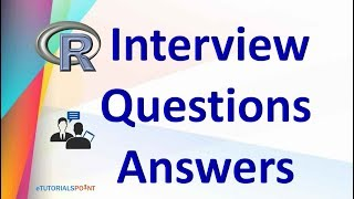R Programming Language Interview Questions and Answers