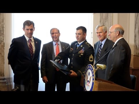 NM Delegation Honors Sgt. Petry