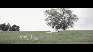 Matt + Laura   Wedding Film  Willow Oaks Plantation   Eden, NC