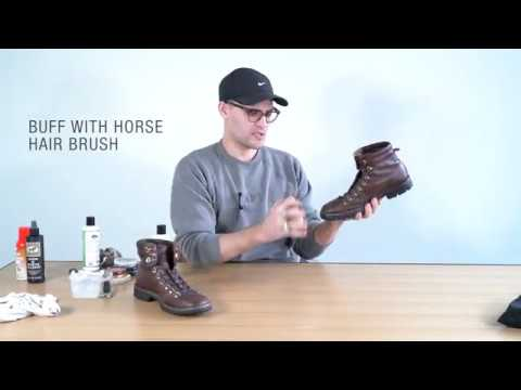 TAFT Shoe care: How to polish your boots