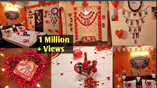 Anniversary Decoration Ideas at home | Surprise Decoration for Husband | Romantic Room Decoration|