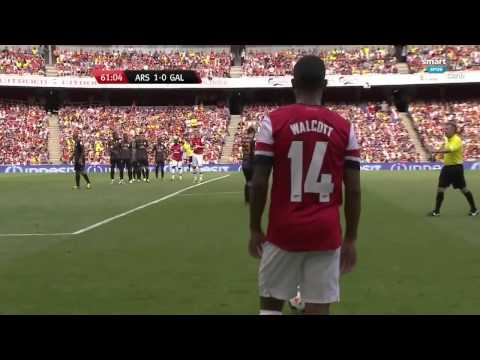 Arsenal 1 2 Galatasaray Ikinci Yarı Emirates Cup 720P HD