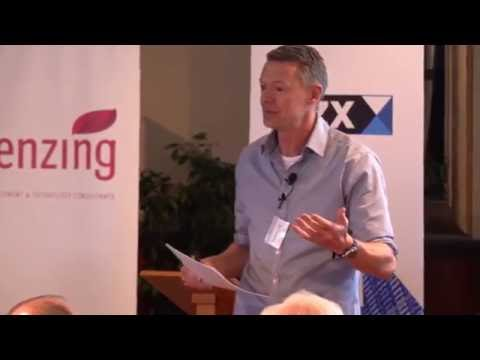 Mark pascall talks about the blockchain, smart contracts and ethereum in Wellington