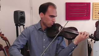Vivaldi Concerto Grosso A Minor, Played On Mezzo-forte Cf Violins