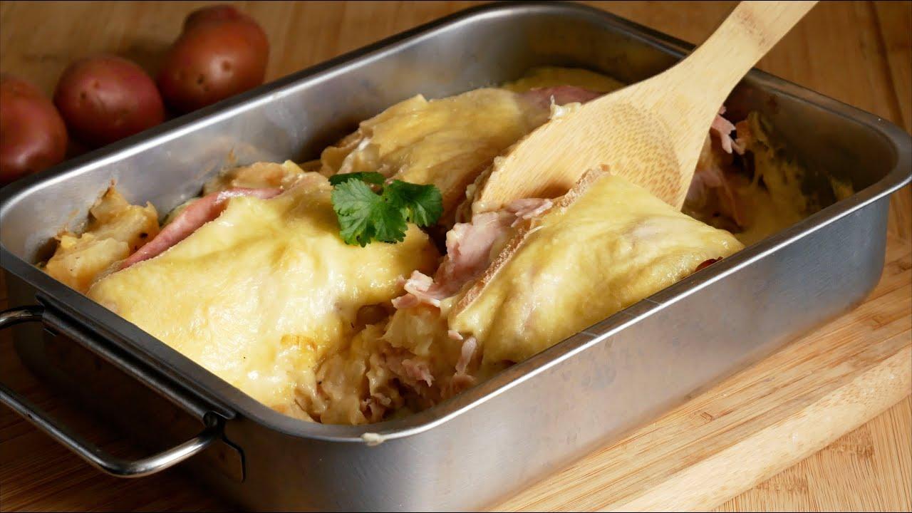 gratin de pommes de terre au fromage a raclette