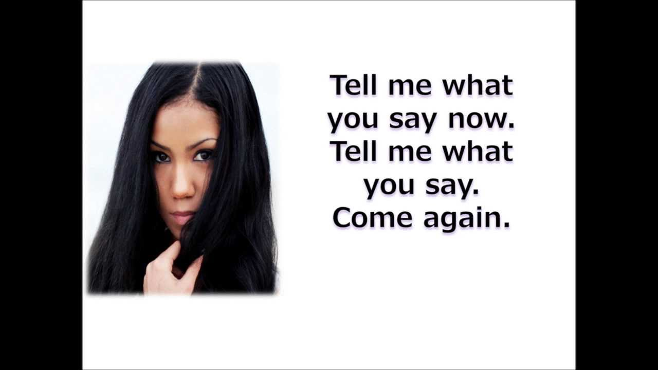 Jhene Aiko- The Worst (Lyrics On-Screen)