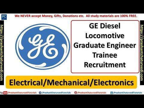 GE Graduate Engineer Trainee Recruitment    Electrical/Mechanical/Electronics   