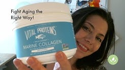 Fight Aging with Vital Proteins Marine Collagen