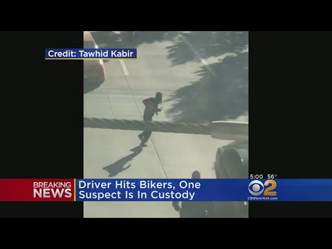 Video Shows NYC Attack Suspect Running Through Traffic