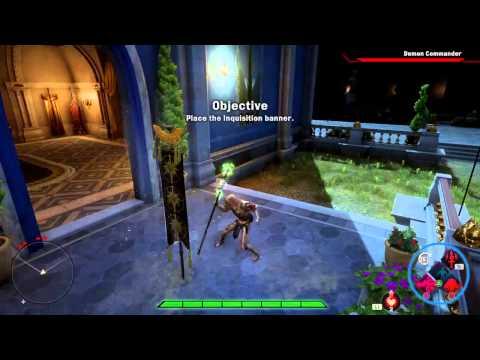 Dragon Age Inquisition Arcane Warrior Build Solo