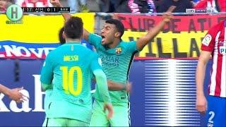 ملخص مبارة أتلتيكو مدريد و برشلونة | 1-2  | الدوري الإسباني |   26-2-2017
