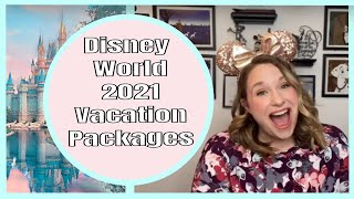 2021 Disney World Vacation Packages NOW AVAILABLE!