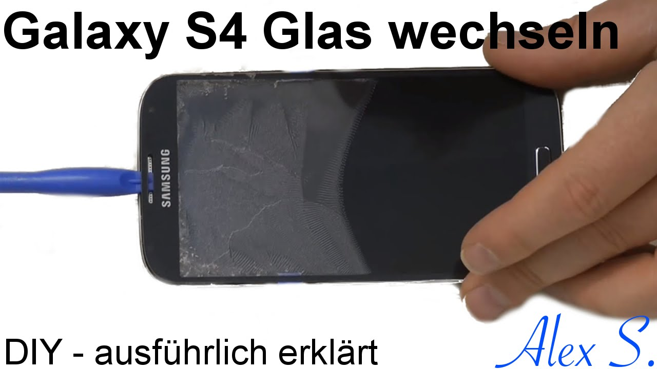 samsung galaxy s4 glas wechseln touch reparieren mit loca uv kleber deutsch viyoutube. Black Bedroom Furniture Sets. Home Design Ideas