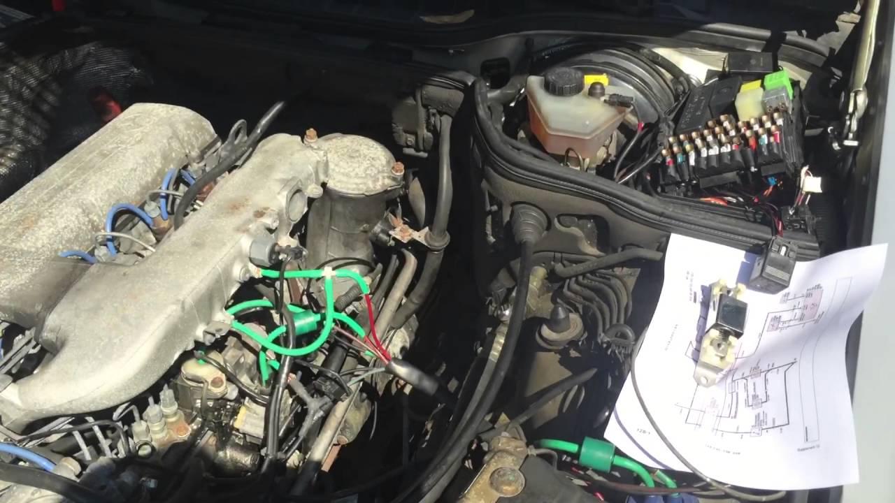 mercedes 350sdl electric fan modification youtube rh youtube com Mercedes-Benz 350SDL 1991 1991 Mercedes 350SDL Parts