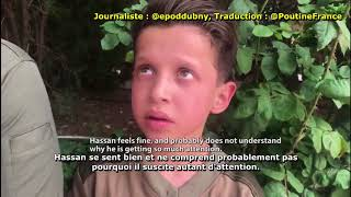 """Témoin 11-ans Syrien garçon Hassan Diab forcé à figurer vidéo """"attaque chimique alléguée"""" - FRANÇAIS"""
