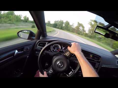 2015 Volkswagen Golf R (DSG) - WR TV POV Sunset Drive