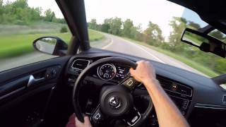 2015 Volkswagen Golf R (DSG) - WR TV POV Sunset Drive