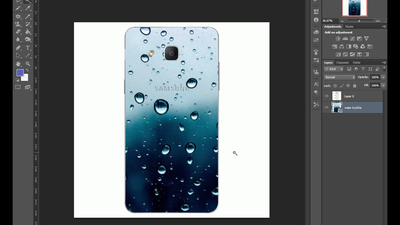 Photoshop Mobile Back Case Design Youtube