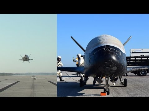 X-37B landing (OTV-4, 7 May 2017)