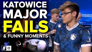 2019 Katowice Major Fails & Funny Moments
