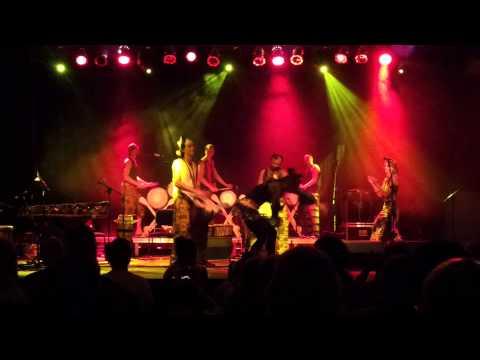 Taniec afrykański - Noc żywych bębnów 2013