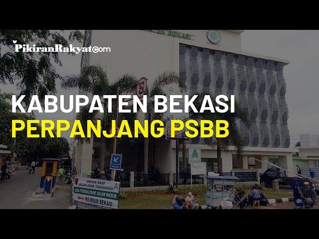 Berhasil Keluar dari Zona Merah, Kabupaten Bekasi Tetap Perpanjang PSBB Hingga 25 November 2020
