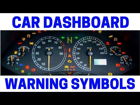 Dashboard Warning Symbols & What They Mean