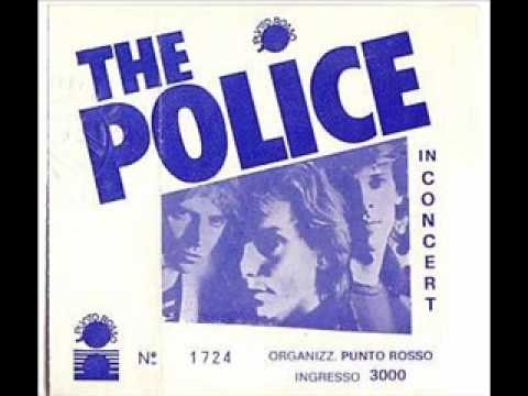 THE POLICE - bring on the night / visions of the night  (milano palalido 2-4-80 italy)