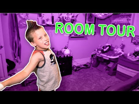 My First ROOM Tour! Paxton Myler