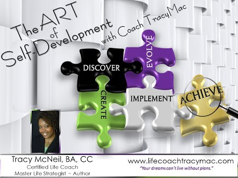 "TracyMac - ""The Art of Self-Discovery"""