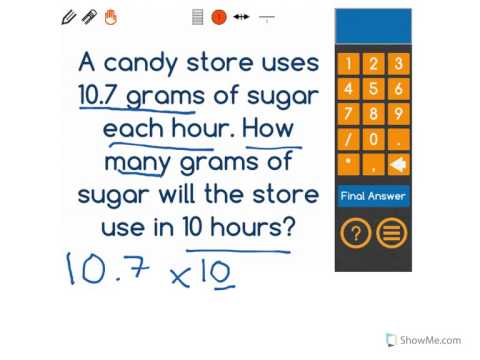 [5.NBT.2-2.0] Multiplying/Dividing by 10 - Common Core Standard