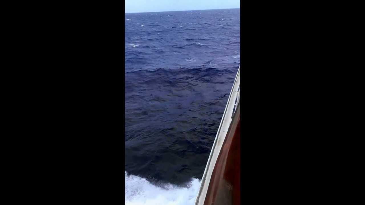 Rough Seas Carnival Valor Cruise 6 13 Jan 2013 Youtube