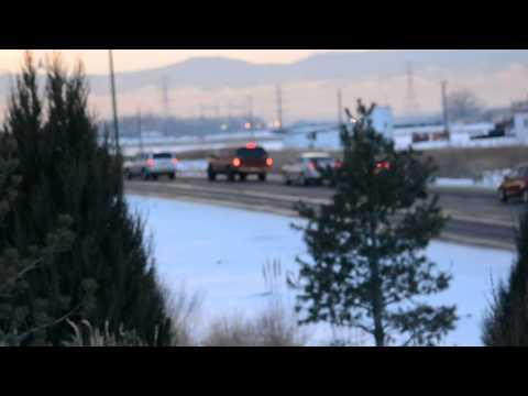 I-76 Truck Fire Traffic Back Up onto SH2 Detour