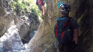Klettersteig Pirknerklamm Oberdrauburg: 12-08-2017